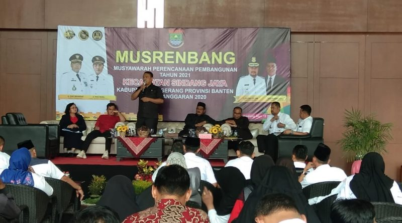 Musrenbang Sindang Jaya, DPRD Dorong Pembangunan Koramil dan Polsek
