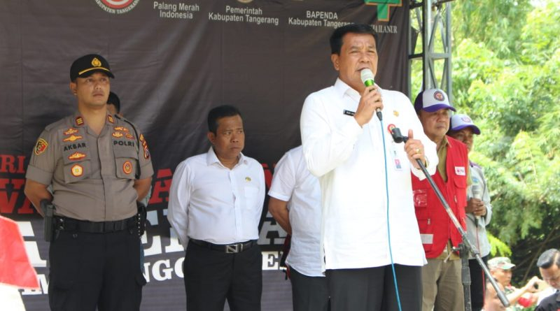 Sekda Kab. Tangerang Buka Pelatihan Relawan Siaga Bencana