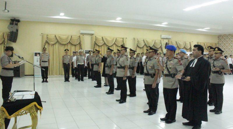 Kapolda Banten Pimpin Sertijab 8 Pejabat Utama dan Kapolres Serang