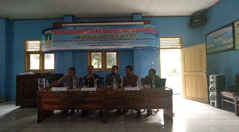 Nelayan Banten Buka Gerai Layanan Izin Tanda Kebangsaan Kapal