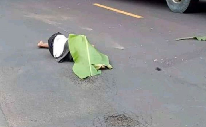 Oleng, Pemotor Mengalami Kecelakaan