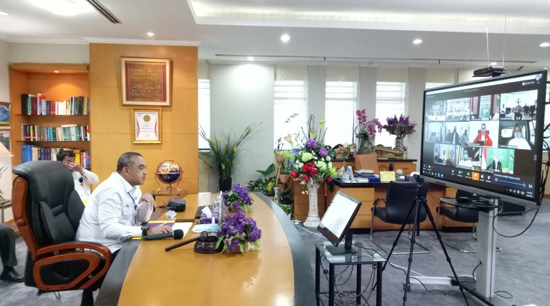 Bahas PSBB, Bupati Zaki dan Gubernur Anies Ratas
