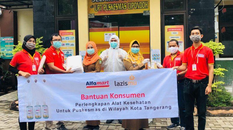Puskesmas di Kota Tangerang Dapat Bantuan APD dan Hand Sanitizer Hasil Donasi Konsumen Alfamart
