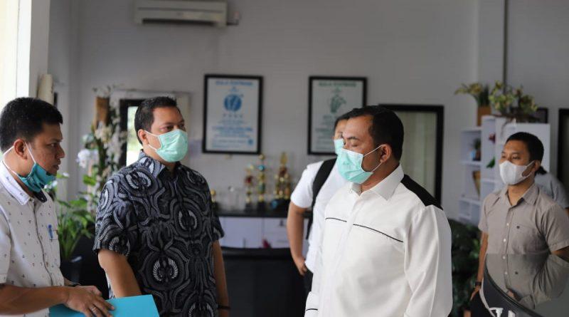 Cek Stok Gula Ditengah Pandemi Covid-19, Ditreskrimsus Polda Banten Tinjau Pabrik Gula