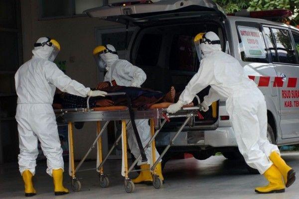 Buruh Matrial Asal Unyur di Ibukota Banten Positif Covid-19