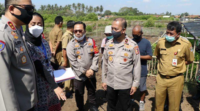 Sekda Rudy Maesyal Cek Lokasi Kesiapan Kunjungan Kapolri Dan Panglima TNI