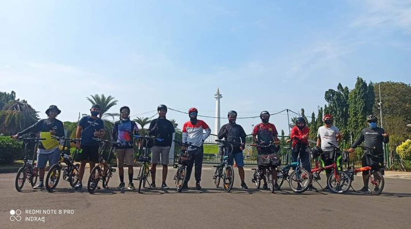 Gowes Bareng, Sepeda Lipat Tangerang dan Kasep Jakarta Barat