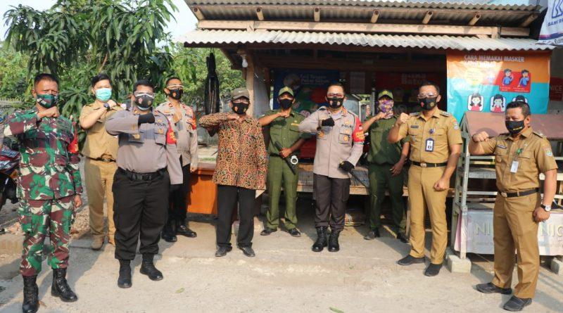 Tinjau KTN di Mauk, Kapolresta Tangerang Dorong Warga Tingkatkan Kreativitas dan Pemberdayaan