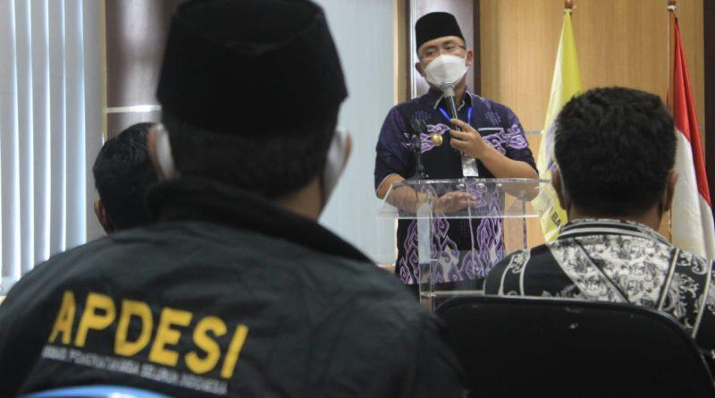Tutup Musda Apdesi Banten, Wagub Minta Kades Sosialisasikan Adaptasi Kebiasaan Baru
