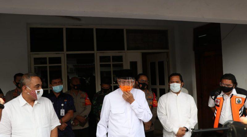 Bupati Tangerang dan Gubernur Banten Raker Penanganan Penyebaran Covid-19