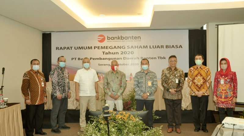 Dapatkan Restu RUPS, Bank Banten Siap Jalankan Rangkaian Aksi Korporasi