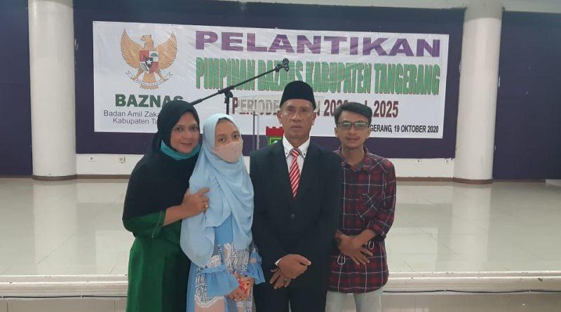 Komisioner BAZNAS Kabupaten Tangerang Rutin Bagikan Infak Kepada Kaum Duafa