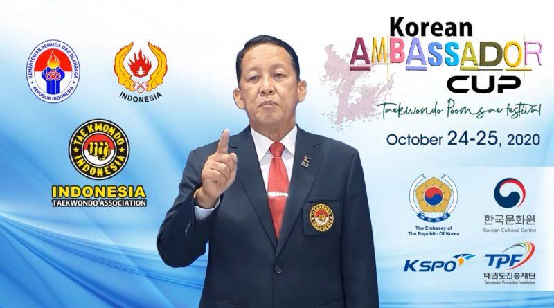 Korean Ambassador Cup Taekwondo Poomsae Festival 2020 di Gelar di Jakarta