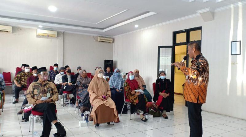 Menjadi Narasumber, Kabid Diskominfo Beri Materi Pembinaan Penyuluhan Agama Islam Da'Wah Melalui Medsos