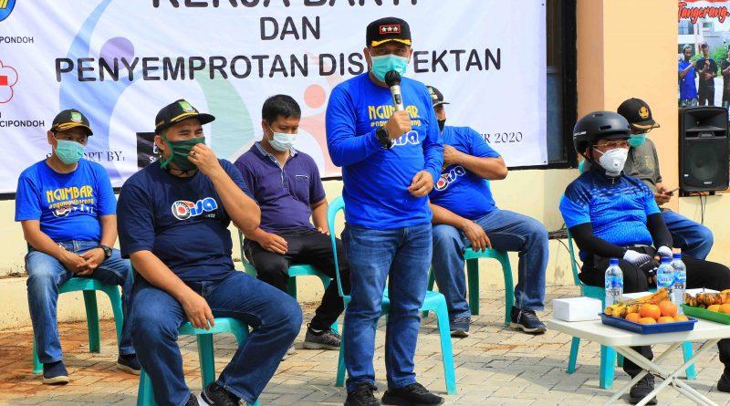 Sumpah Pemuda di Tengah Pandemi, Wakil Wali Kota Tangerang Ajak Pemuda Bersatu Dan Bangkit