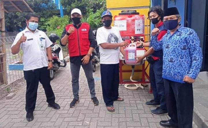 Tekan Klaster Covid-19, PMI Kota Tangerang Salurkan Wastafel di 13 Kecamatan