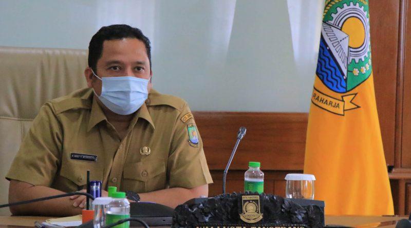 HUT PGRI, Wali Kota Tangerang Harapkan Kreativitas Tenaga Pengajar di Masa Pandemi Covid-19