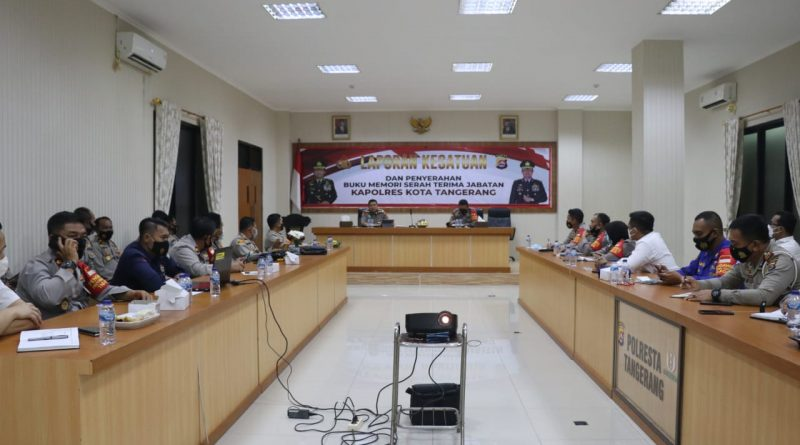 Langsung Tancap Gas, Kapolresta Tangerang Paparkan Commander Wish Kapolda Banten ke Jajaran
