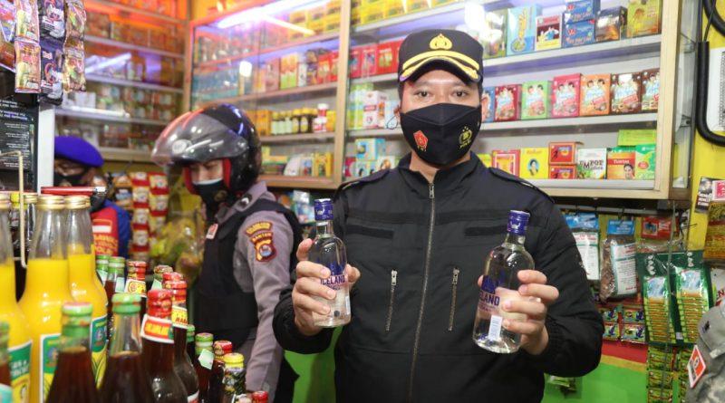 Operasi Cipta Kondisi, Polresta Tangerang Amankan Ratusan Botol Miras dan 2 Unit Motor Tanpa Surat