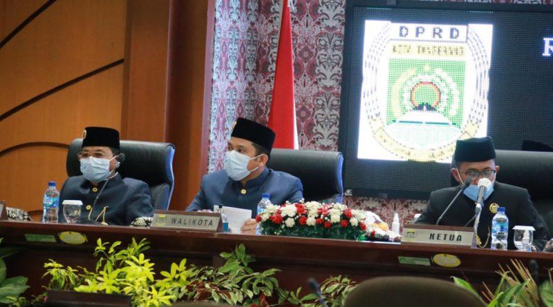 Walikota Tangerang Sampaikan Capaian Program-Program Dalam Paripurna Istimewa