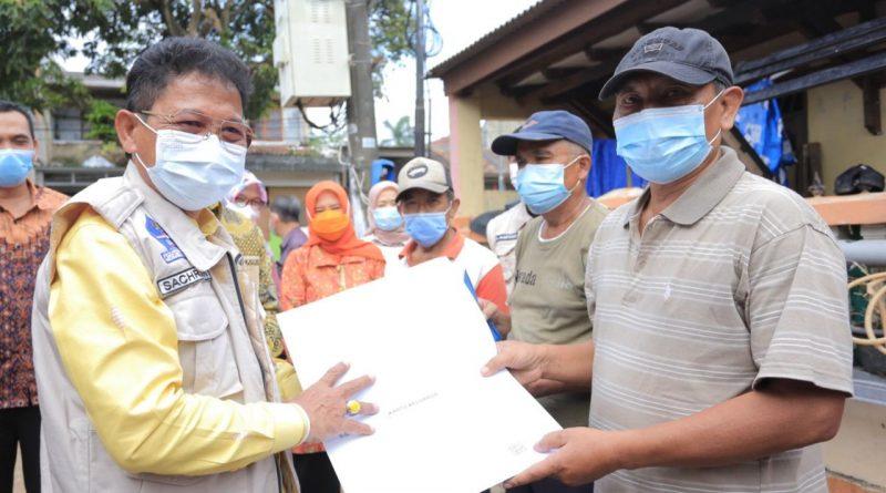 """PEDULI"" Solusi Urus Berkas Kependudukan Pasca Banjir"