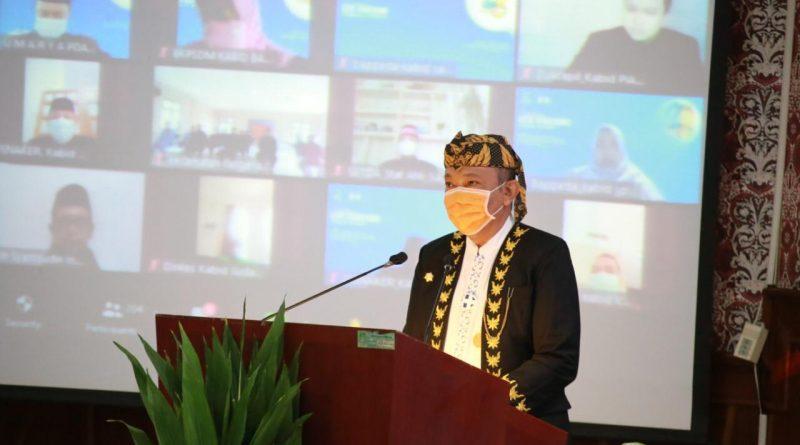 HUT Kota Tangerang, Gubernur WH Ajak Semua Pihak Gotong Royong Bangun Provinsi Banten