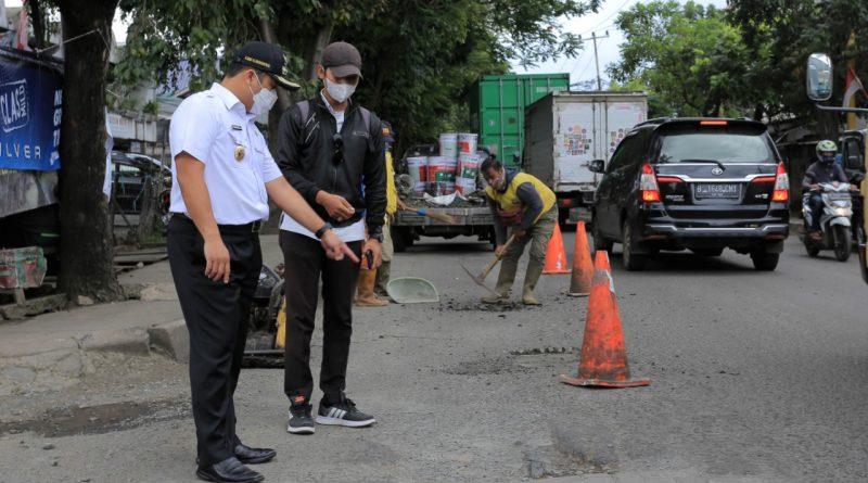 Pemkot Tangerang Mulai Perbaikan Jalan Yang Rusak