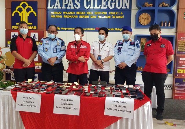 Kadivpas Kumham Banten Pimpin Sidak ke Lapas Cilegon