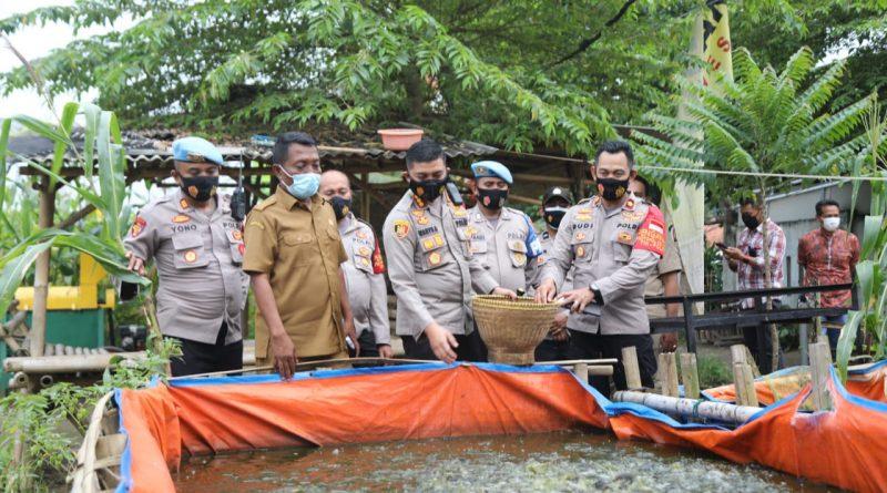 Gelorakan Kampung Tangguh Nusantara, Kapolresta Tangerang Blusukan ke Desa Jambe