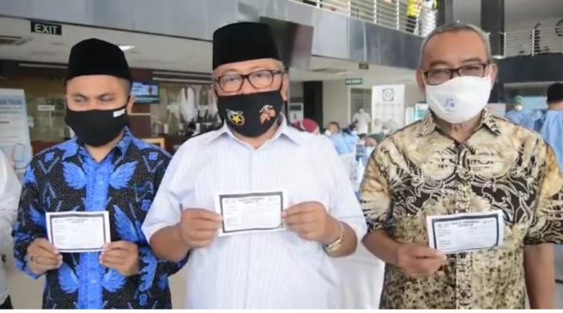 Tokoh Agama Banten Himbau Masyarakat Ikut Vaksinasi Covid-19
