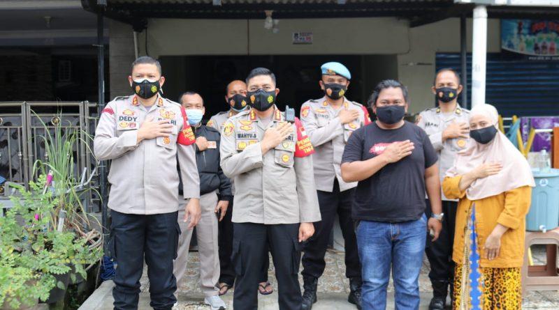 Kapolresta Tangerang Kunjungi Kediaman Anggota dan ASN