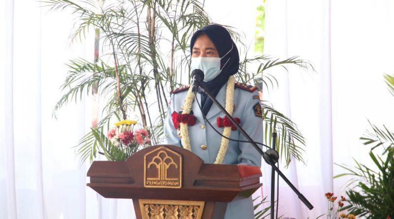 Sertijab, Herastini Resmi Pimpin Kalapas Kelas IIA Tangerang