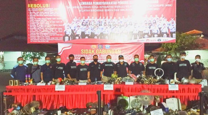 Sidak Gabungan, Kepala LPKA Kelas I Tangerang: Meminimalisir Benda Terlarang