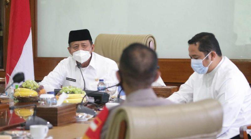 Gubernur Banten Tekankan Sinkronisasi Data Penanganan Covid-19