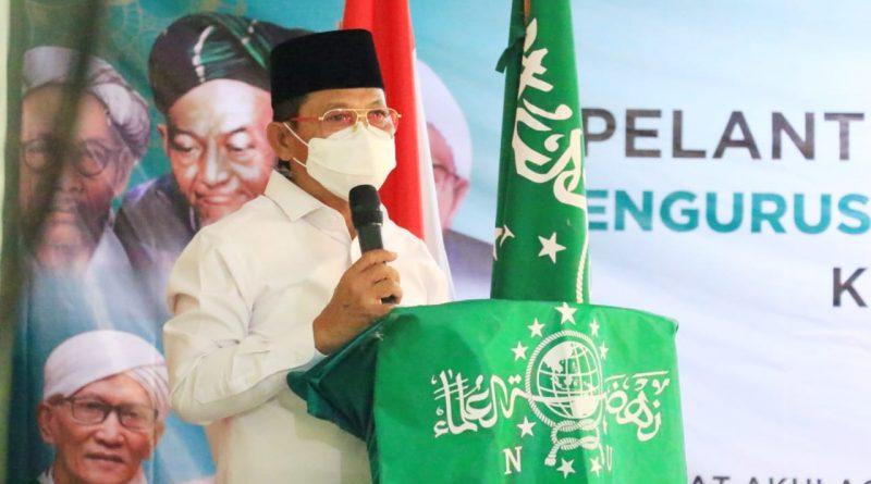 Wakil Walikota Tangerang Hadiri Pelantikan PCNU